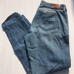 Madewell Boyfriend Jeans Medium Wash Denim